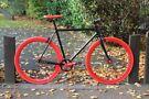 Brand new TEMAN single speed fixed gear fixie bike/ road bike/ bicycles + 1year warranty3aa
