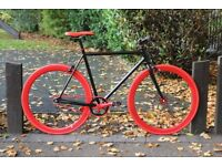 Brand new TEMAN single speed fixed gear fixie bike/ road bike/ bicycles + 1year warranty qt7