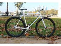 Brand new TEMAN single speed fixed gear fixie bike/ road bike/ bicycles + 1year warranty qt2