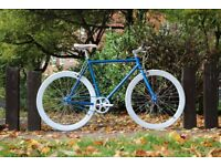 Brand new TEMAN single speed fixed gear fixie bike/ road bike/ bicycles + 1year warranty qt6