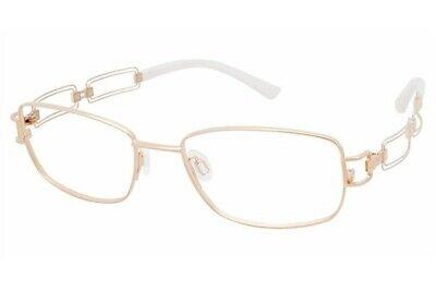 Charmant Line Art Women's Eyeglasses XL2044 XL/2044 GW Gold Optical Frame (Art Eyeglasses)