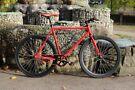 Brand new TEMAN single speed fixed gear fixie bike/ road bike/ bicycles + 1year warranty6aa