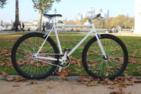 Brand new TEMAN single speed fixed gear fixie bike/ road bike/ bicycles + 1year warranty lll9