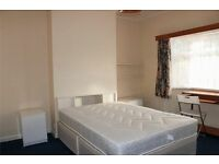BILLS INCL, DOUBLE BED, CENTRAL LINE 24h, 2 single rooms double bed EAST ACTON