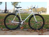 Brand new TEMAN single speed fixed gear fixie bike/ road bike/ bicycles + 1year warranty 11w