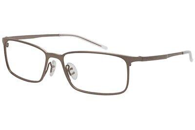Porsche Design Men's Eyeglasses P'8254 P8254 C Gray Full Rim Optical Frame (Eyeglass Frame Design)