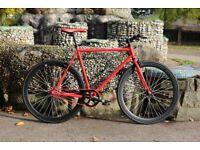 Brand new Teman single speed fixed gear fixie bike/ road bike/ bicycles + 1 year warranty bzz3