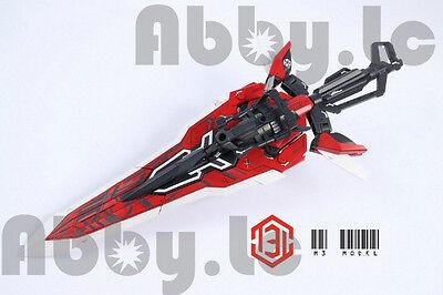 M3 Tactical Arms Sword Backpack Kit for 1/60 PG Astray Gundam Red Frame Gunpla