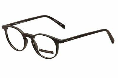 Italia Independent Eyeglasses I-Plastik 5622 Black 009/000 Optical Frame (Italia Independent Eyeglasses)