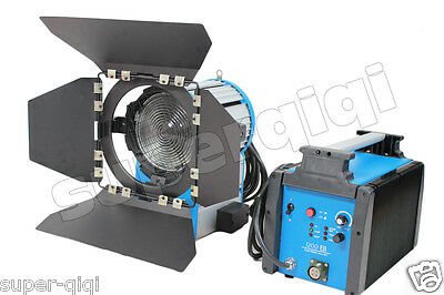 Upgrade1200W 1.2K HMI Fresnel Light Ballast Bulb Aluminum Case Lamp AS kit  - Hmi Fresnel Light
