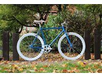 Brand new TEMAN single speed fixed gear fixie bike/ road bike/ bicycles + 1year warranty ww6
