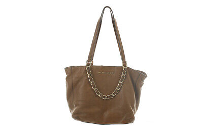 Michael Michael Kors Brown Chain Shoulder Bag OSFA Clothing, Shoes & Accessories