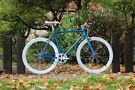 Brand new TEMAN single gear freewheel/ fixie bike/ road bike/ bicycles + 1year warranty4B