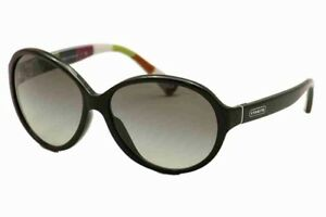 Women's Coach Sunglasses HC 8008A (L500 Alicia) 5002/11 (Black)