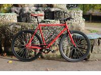 Brand new TEMAN single speed fixed gear fixie bike/ road bike/ bicycles + 1year warranty ll5
