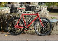 Brand new Teman single speed fixed gear fixie bike/ road bike/ bicycles + 1 year warranty vv4ff