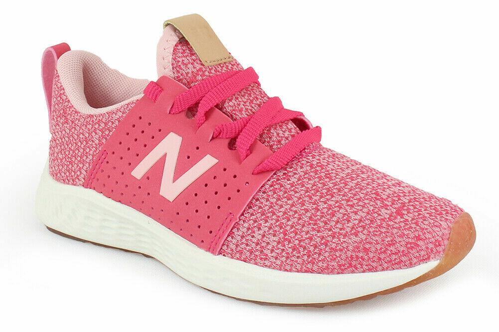 New Balance Fresh Foam Girls Kids Youth Shoes Athletic Runni