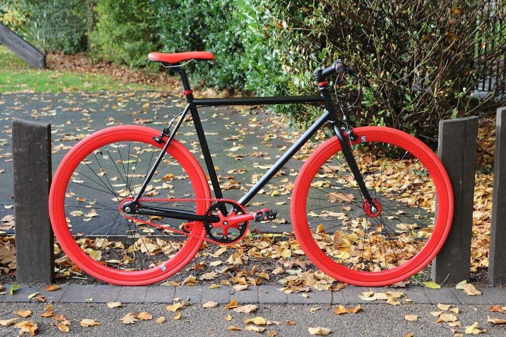 6d4c8f64a Brand new Teman single speed fixed gear fixie bike  road bike  bicycles + 1  year warranty 233y