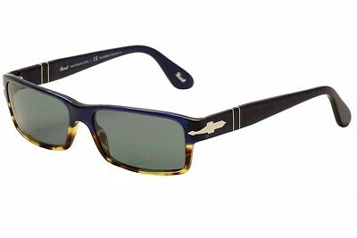 Persol Men's PO 2747S 2747/S 955/4N Havana/Blue/Silver Polarized Sunglasses (Persol 2747s Polarized)