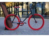 Brand new TEMAN single speed fixed gear fixie bike/ road bike/ bicycles + 1year warranty ww7