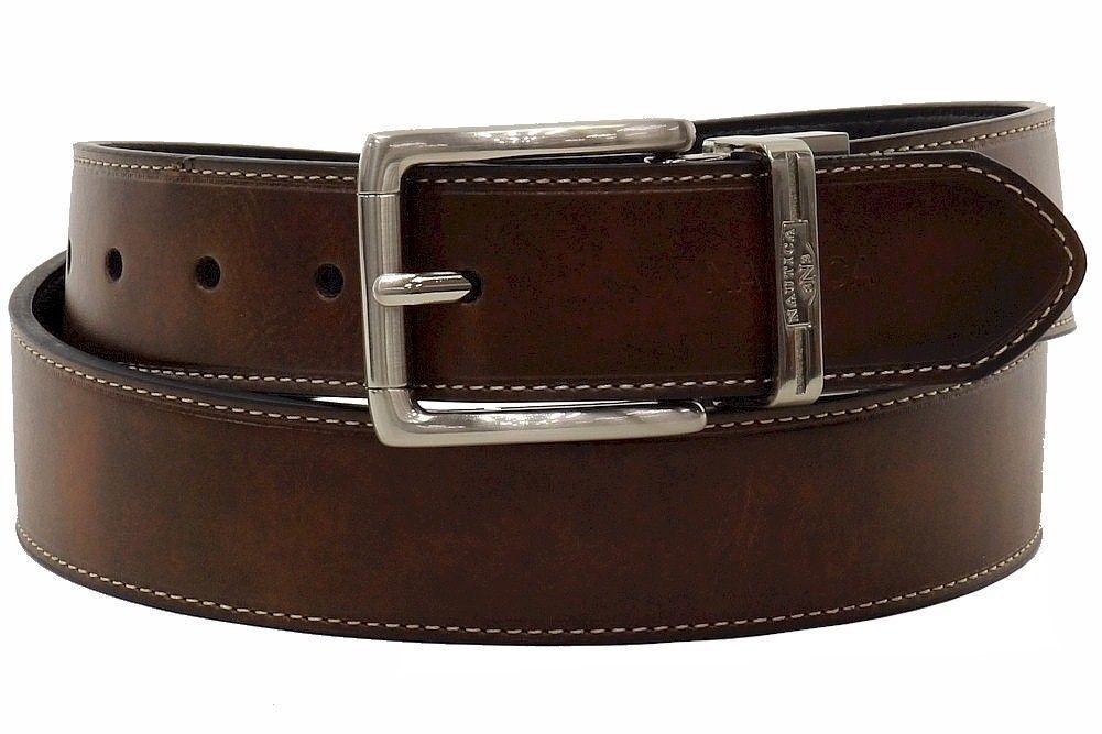 SUNNSEAN Belt Cinturones de Hombre de Piel Cintur/ón de Hombre Marr/ón Negro Cinturones Jeans para Caballeros Hebilla Elegante Cintur/ón de Cuero para Hombres Hombres Correa de Piel