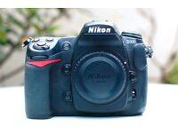 Nikon D300 Body 21,095 shots in box excellent condition 16GB Memory