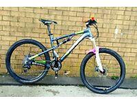 2013 boardman fs full suspension mountain bike