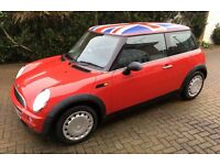 AUTOMATIC MINI ONE VERY LOW MILEAGE FAMILY OWNED FROM NEW ONE YEARS MOT GOOD CONDITION AUTO MINI ONE