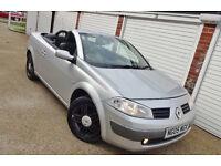 ** Bargain 2005 05 Renault Megane 1.6 VVT Dynamique Convertible **