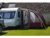 Xl porch awning with extras