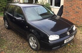 VW Golf Mk4 GTI 1.8 Non Turbo - Needs Recommisioning