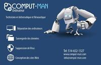 Computer Technician / Computer Repair Service - Laval/Montreal