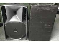 RCF 710a Pa speakers