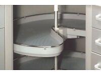 BNIB Quality Cooke & Lewis 270 degree, 3/4 corner kitchen carousel, RRP £120
