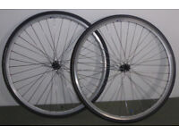 Harry Rowland hand built road bike wheelset Shimano 11 speed hubs Michelin / Conti tyres