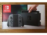 BRAND NEW SEALED Nintendo Switch Console - Grey