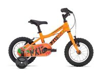 Ridgeback MX12 Orange - Brand New. Great bike with stabilisers included.