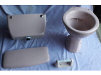 WC, Cistern and Vanity Basin (Trent Ware/Johnson Brothers)