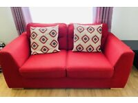 DFS Sofa Set - 3 seater + 2 seater with 4 coushions
