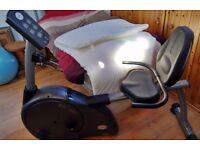 Horizon Fitness RSC100 recumbent exercise cycle, collection only