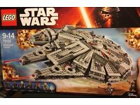 Brand new, sealed 75105 LEGO Star Wars Millennium Falcon
