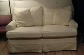 Multiyork cream 2-seater sofa