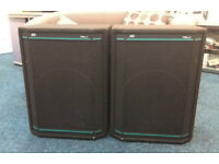 Peavey HiSys 2 Speakers with Black Widow Drivers