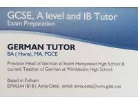 German Tuition in Fulham by Native Language Teacher