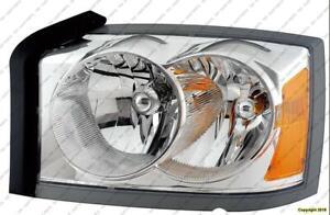 Head Light Driver Side (Without Black Bazel) High Quality Dodge Dakota 2005