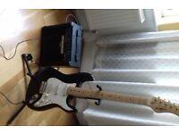 Behringer Electric Lead Guitar & Amp