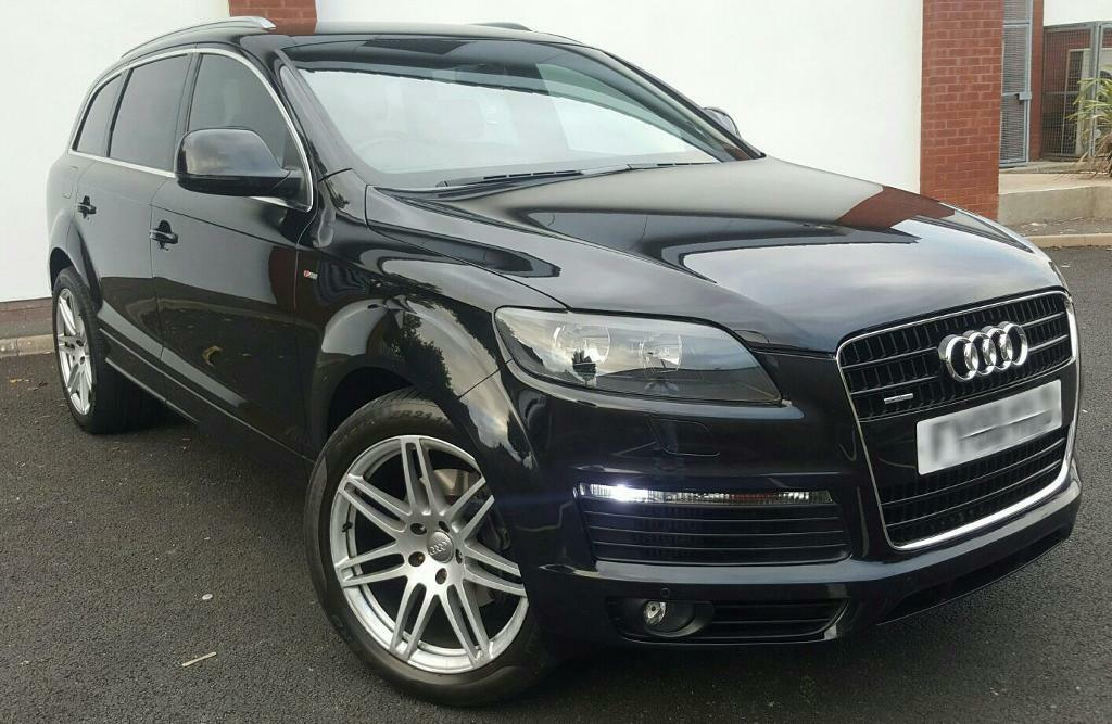 56 2006 audi q7 3 0 tdi s line quattro in alum rock west midlands gumtree. Black Bedroom Furniture Sets. Home Design Ideas