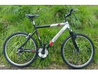 Raleigh lightweight aluminium frame bike