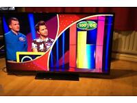 """PANASONIC 50"""" LED TV FREEVIEW 1080p FULL HD CAN DELIVER."""