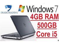 Dell Latitude , Core i5-2520M 2.5GHz, 500GB, 4GB Win 7 Pro HDMI